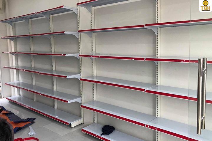 Báo giá kệ siêu thị đơn tại quận 8 mới nhất