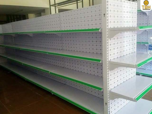 Báo giá kệ siêu thị đôi tại quận 4