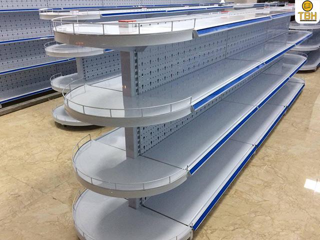 Một số mẫu kệ siêu thị tại Quận 1 được ưa chuộng nhất