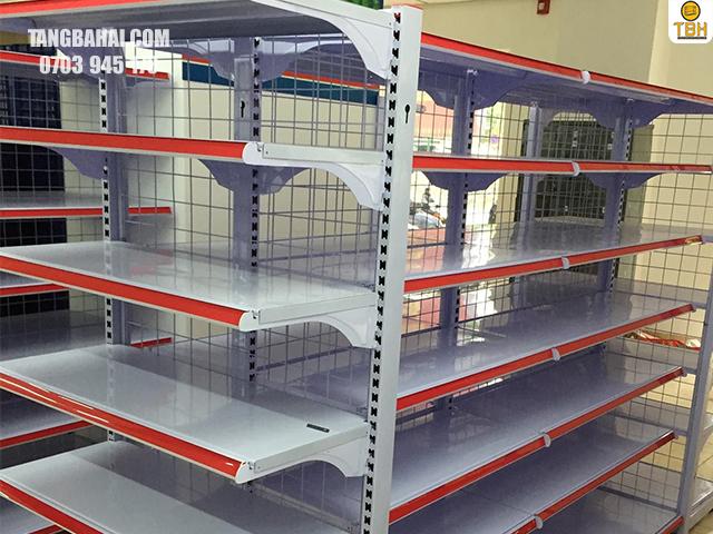 cấu tạo của kệ siêu thị 2 mặt